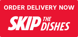 Skip the Dishes order button